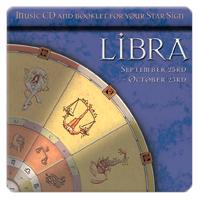 LIBRA (váhy) 1 CD relaxační hudba GLOBAL JOURNEY