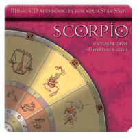 SCORPIO (štír) 1 CD - relaxační hudba GLOBAL JOURNEY