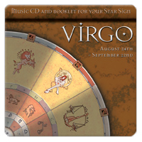 VIRGO (panna) 1 CD relaxační hudba GLOBAL JOURNEY