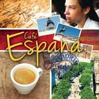 Cafe Espana 1 CD - špqnělská hudba GLOBAL JOURNEY