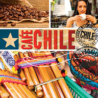 Cafe Chile 1 CD - Andská hudba GLOBAL JOURNEY