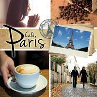 Cafe Paris 1 CD - francouzská hudba GLOBAL JOURNEY