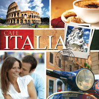 Cafe Italia 1 CD - italská hudba GLOBAL JOURNEY