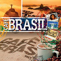Cafe Brasil 1 CD - brazilská hudba GLOBAL JOURNEY