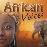 African Voices 1 CD - africká hudba GLOBAL JOURNEY