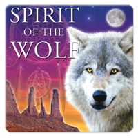 Spirit of the Wolf 1 CD - relaxační hudba GLOBAL JOURNEY