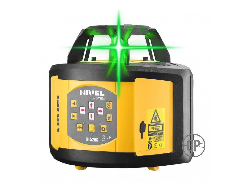 Rotační laser Nivel System NL 520G