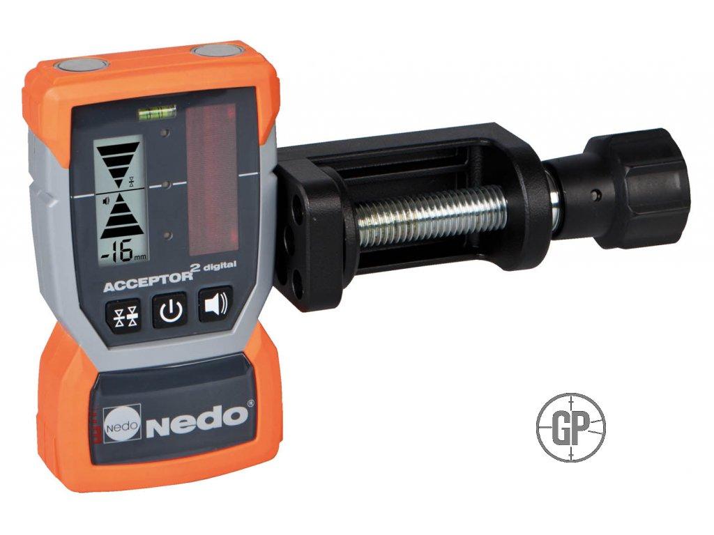 Laserový přijímač Nedo Acceptor 2