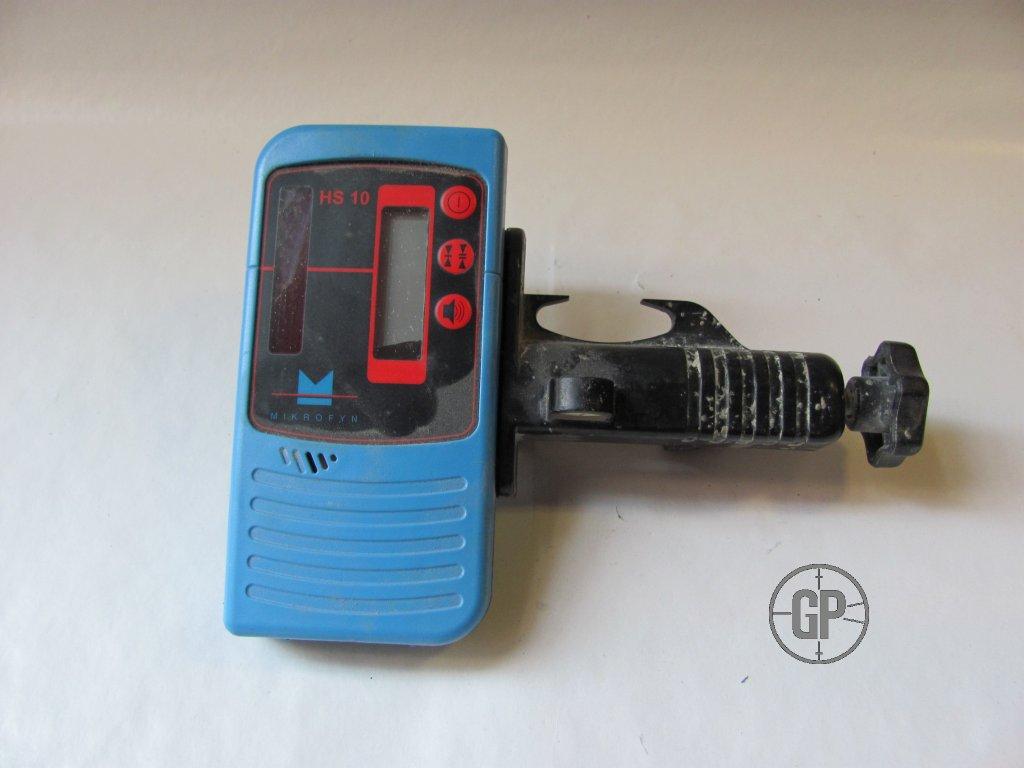 Detektor laserového paprsku Mikrofyn HS10