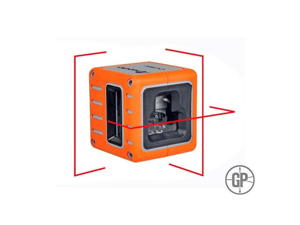 Křížový laser Nedo Cube red/green