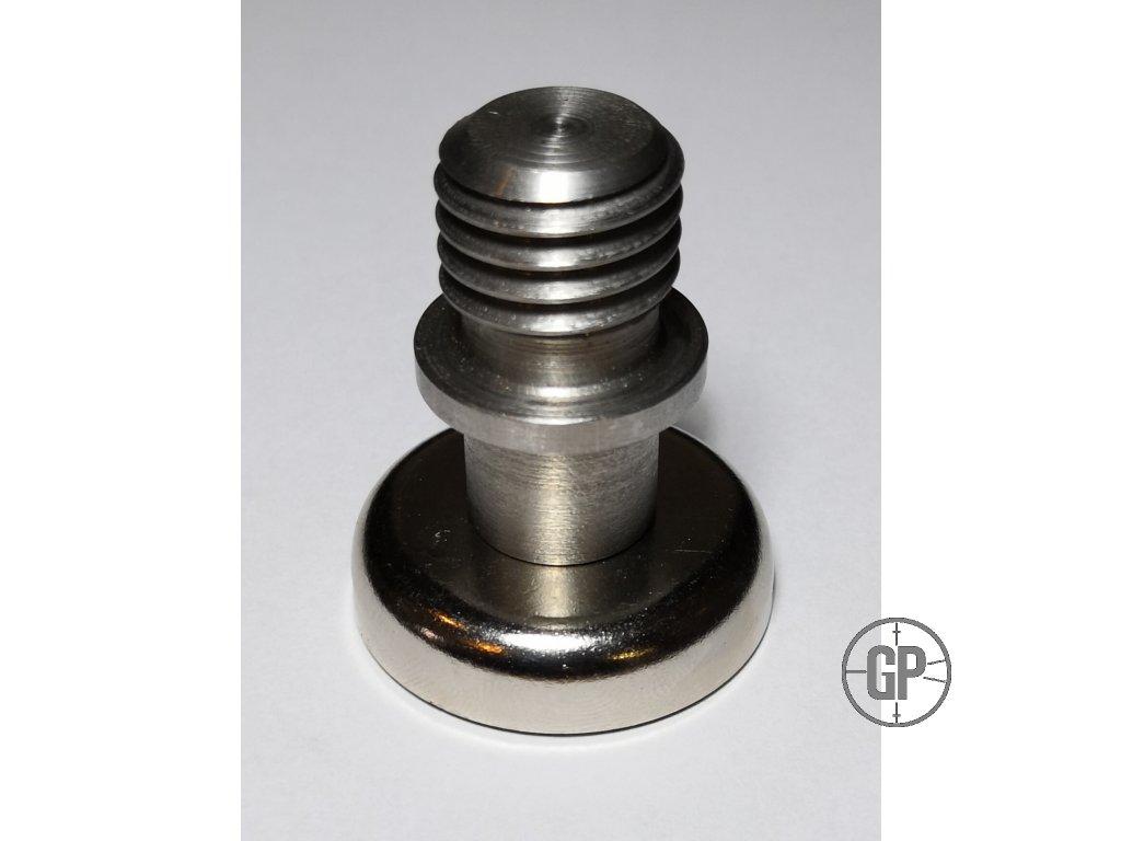 Magnetický držák pro hranol, terč