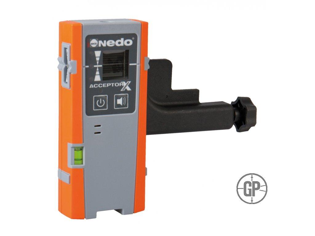 Laserový přijímač Nedo Acceptor X green