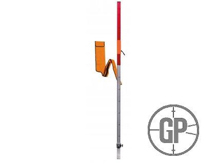 Teleskopická tyč NEDO k laserovému přijímači, do 2,40m