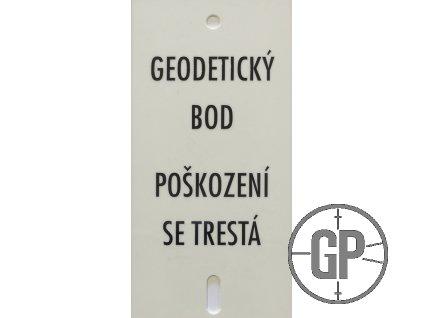 Tabulka s nápisem k OTZ