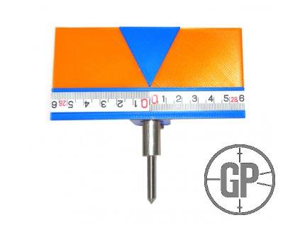 GP0096 Záměrné pravítko