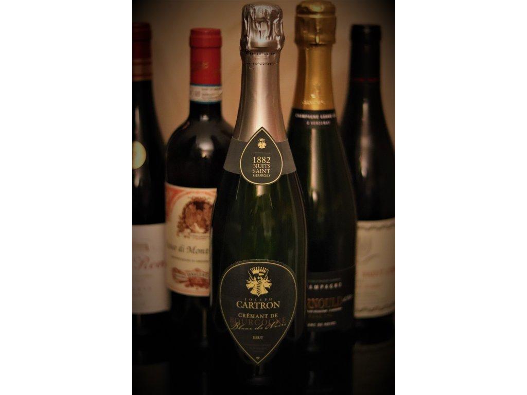 6x0,75l Crémant de Bourgogne Blanc de Noirs Cartron Joseph
