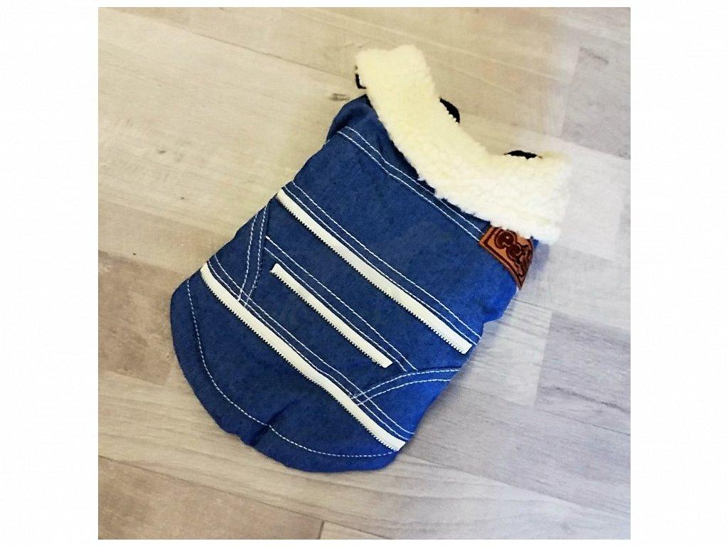 DOPRODEJ Bunda Jeans 35 cm