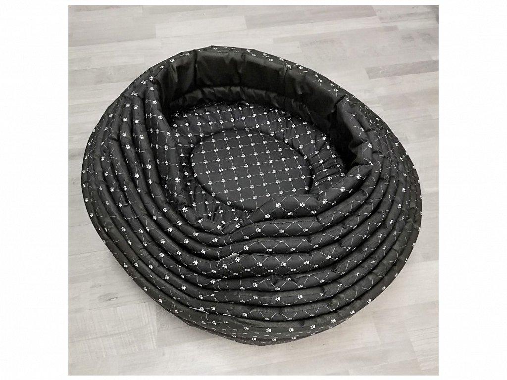 Pelech Tlapka černý 68x 62 cm