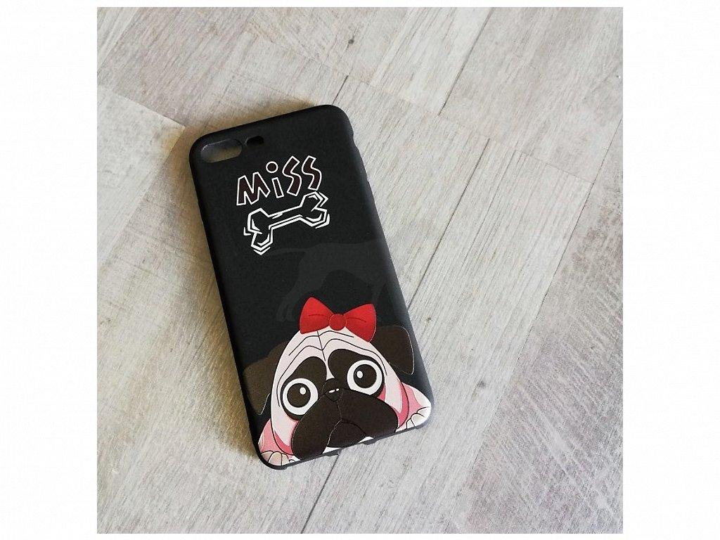 Kryt na telefon Iphone 7 plus Mops