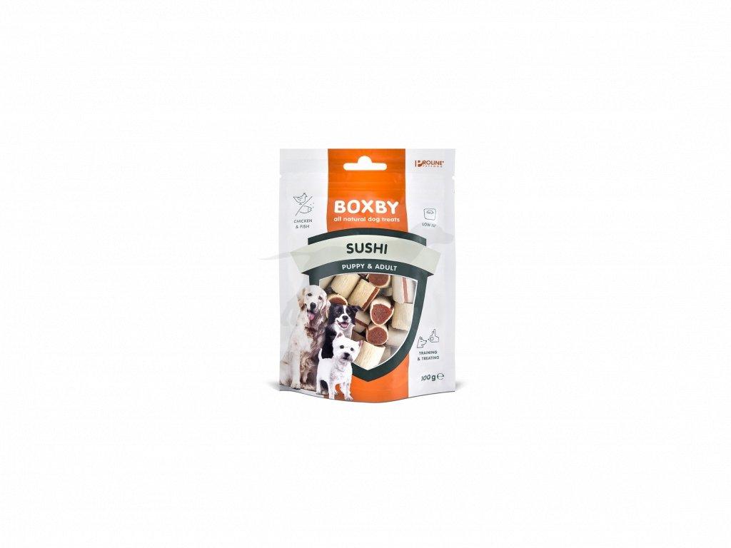 Proline Boxby Kuřecí / rybí válečky 15x 100g