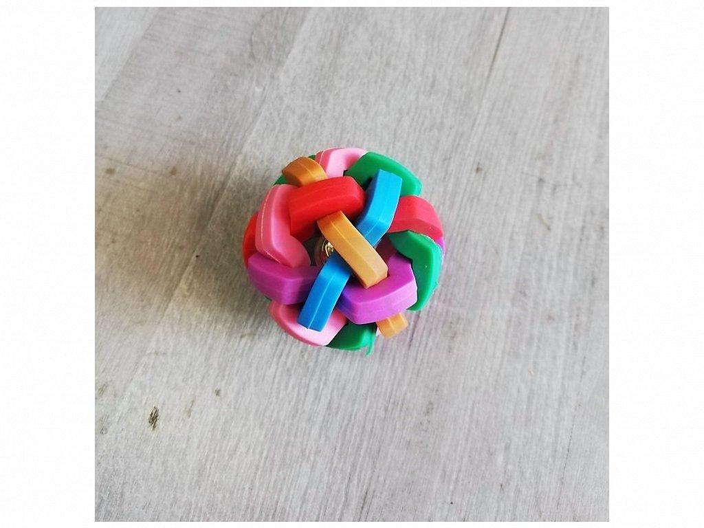 Hračka propletenec 5,5 cm (hranatá konstrukce)