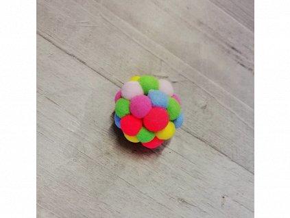 Hračka míček pěna 4 cm