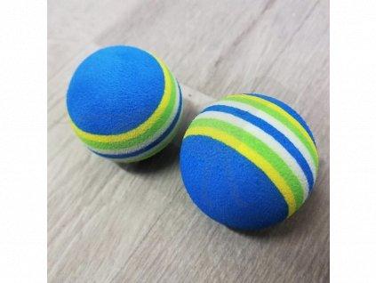 Hračka míček pěna mix barev 3,5 cm