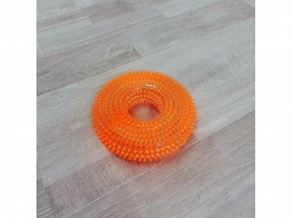 Hračka masážní kolo na zuby se zvukem 9,5 cm