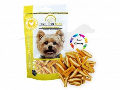 Pamlsek Fine Dog Kuřecí MINI kousky 80 g