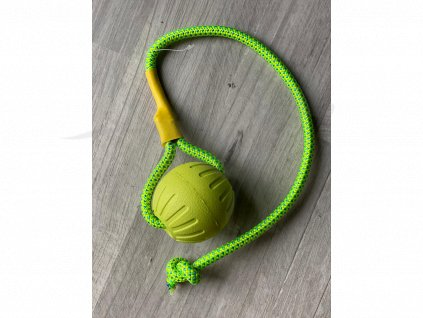 Hračka míč na laně 7 cm/50 cm