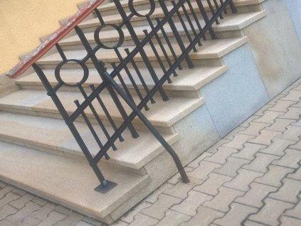 Obklad schodů melír