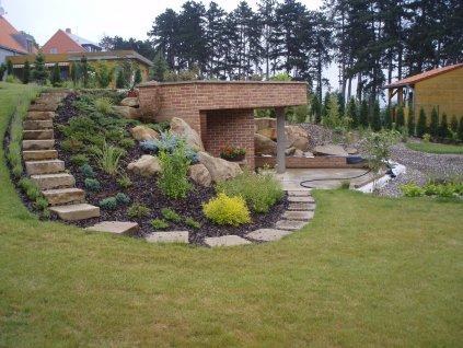 3 Zahradní schůdky