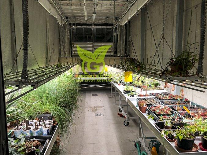 Realizace skleník MU Brno GROW LED FLEXI 17 IP65