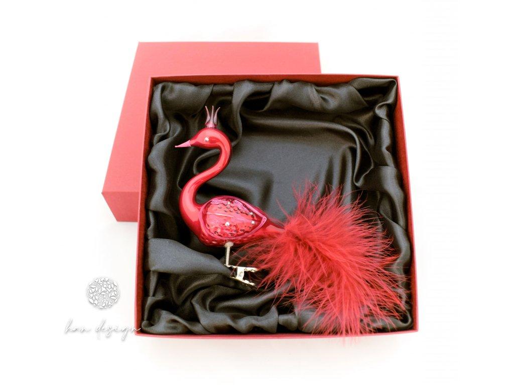 Dárková krabička na labuť
