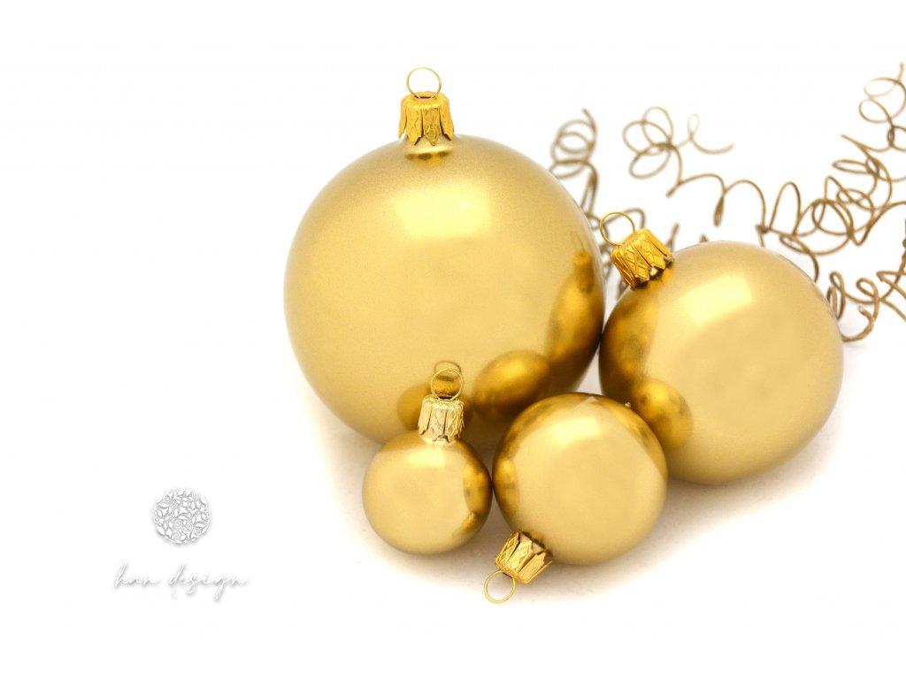 114 koule 8 cm koule 6 cm koule 4 cm koule 3 cm zlaty metalik