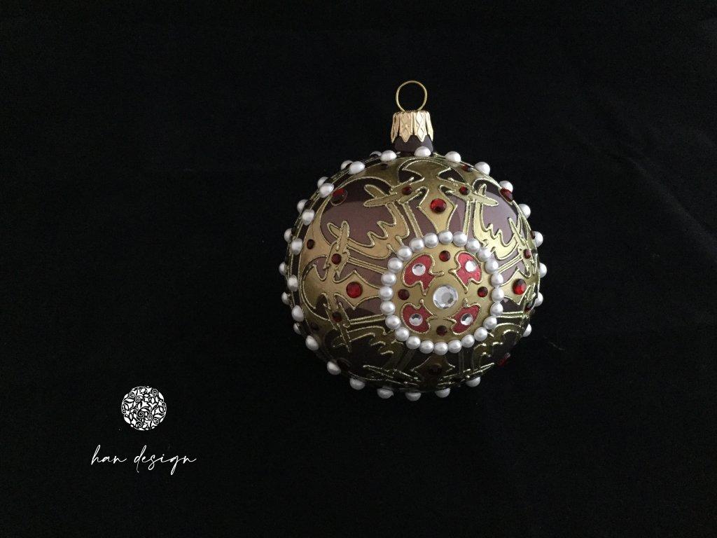Byzance hnědá - jednokusová kolekce