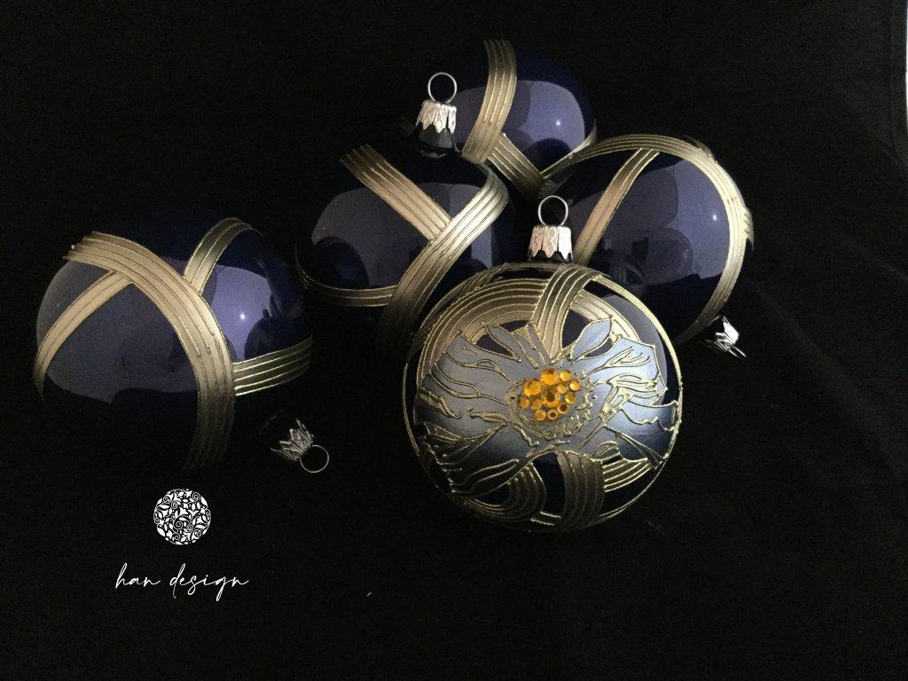 Vlčí Mák modrý - čtyřkusová kolekce