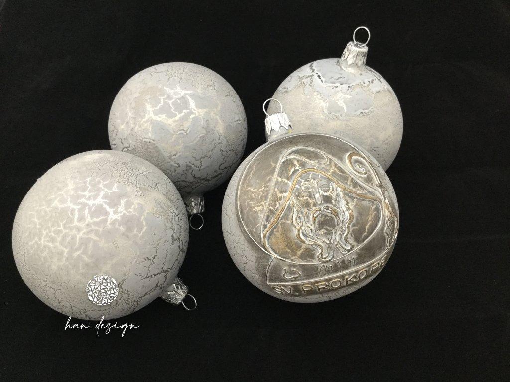 Sv. Prokop šedý - čtyřkusová kolekce
