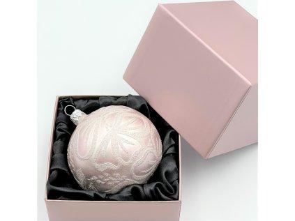 Dárková krabička na kouli/srdce