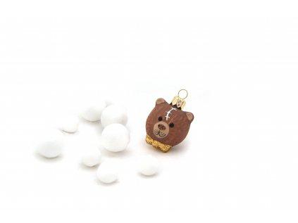 1014 hlava medvidka hneda skorapka