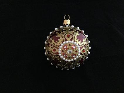 Byzance červená - jednokusová kolekce