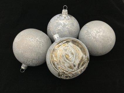 Sv. Anežka šedá - čtyřkusová kolekce