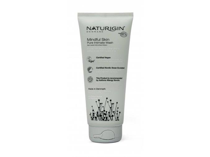 přírodní intimní gel MINDFUL SKIN PURE INTIMATE WASH