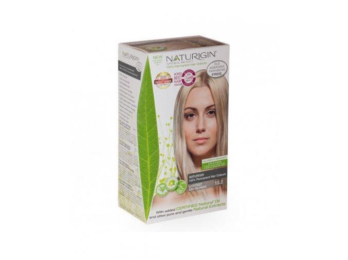 studená popelavá blond NATURIGIN LIGHTEST ASH BLONDE 10.2