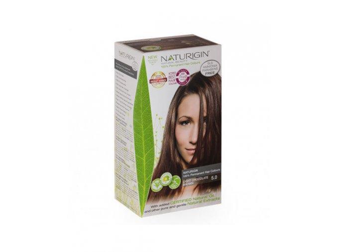 přírodní světle hnědá NATURIGIN Light Chocolate Brown 5.0
