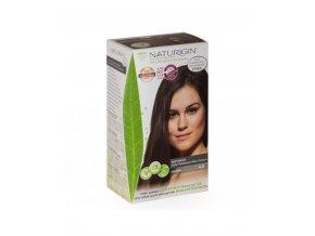 přírodní hnědá barva na vlasy NATURIGIN Brown 4.0
