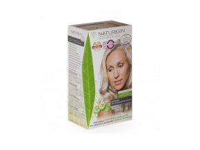 barva na vlasy studený popelavý blond odstín NATURIGIN Extreme Ash Blonde 11.2