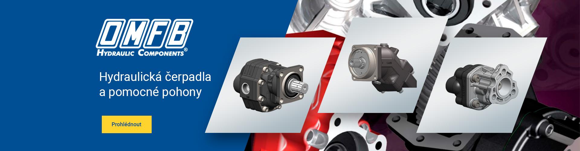 OMFB hydraulická čerpadla