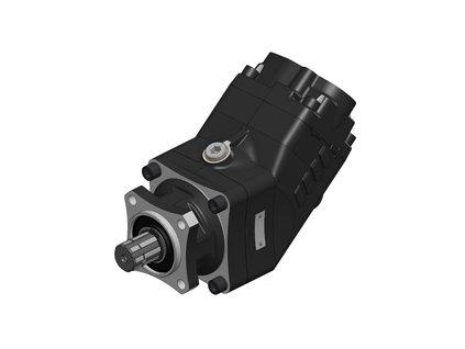Hydraulické čerpadlo TWIN FLOW 73+35