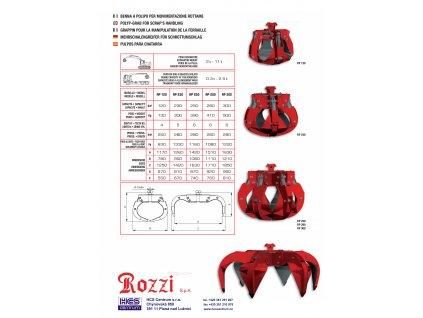 Polypový drapák RP250